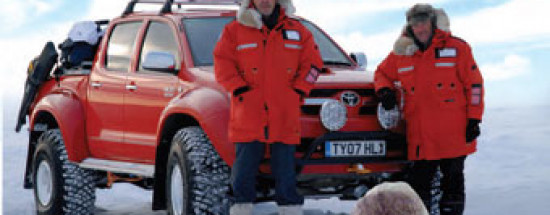 'Top Gear — Наперегонки к северному полюсу / Top Gear: Polar Special