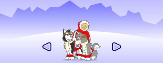 'Онлайн игра Husky Racers